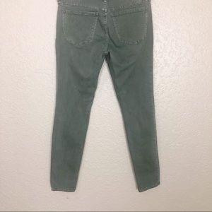 Madewell Jeans - EUC Madewell Skinny Skinny Jeans Highland Green